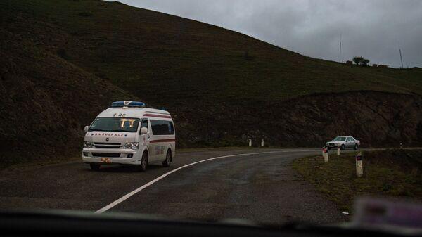 Карета скорой помощи в Карабахе - Sputnik Արմենիա
