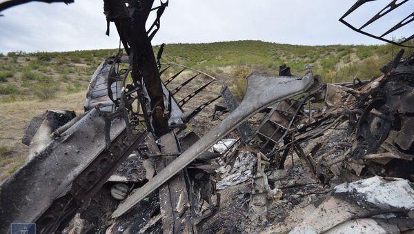 Уничтоженный Армией Обороны Карабаха азербайджанский БПЛА - Sputnik Արմենիա