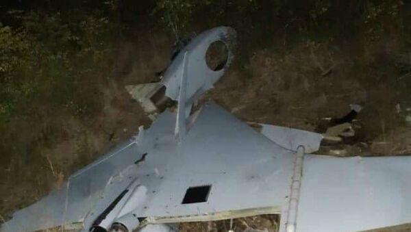 Подбитый ночью вражеский беспилотник (1 октября 2020). - Sputnik Արմենիա
