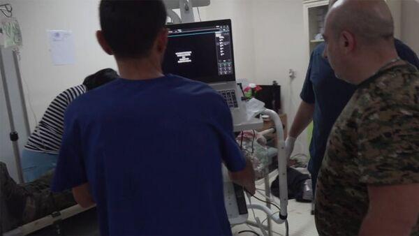 Le Monde-ի թղթակից Ալլան Կավալի վիճակը ծանր է, նրան վիրահատում են Ստեփանակերտի բժկական կենտրոնում: - Sputnik Армения