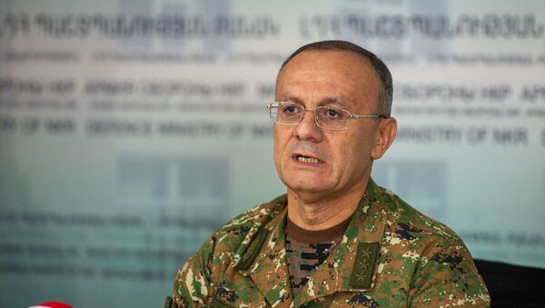 Брифинг Сейрана Оганяна (1 октября 2020). Степанакерт - Sputnik Армения
