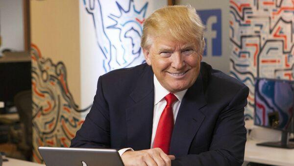 Президент США Дональд Трамп  - Sputnik Армения