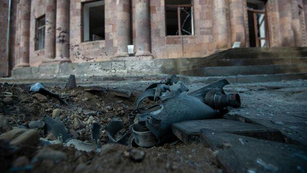 Последствия обстрелов в Мартуни (2 октября 2020). Карабах - Sputnik Արմենիա