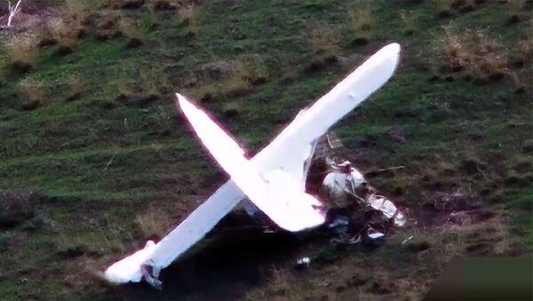 Очередная потеря азербайджанских ВВС армянскими силами - Sputnik Армения