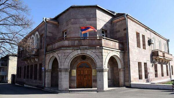 Здание Министерства иностранных дел Карабаха - Sputnik Армения