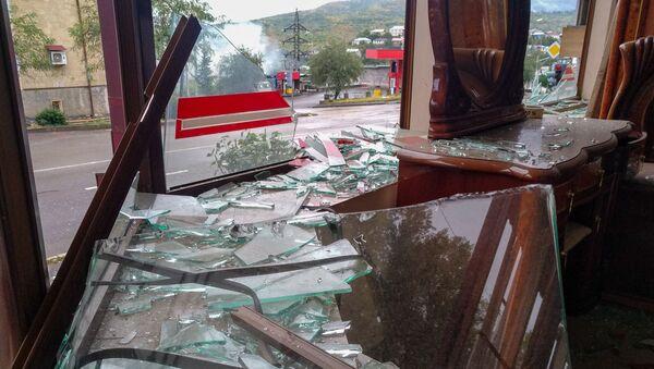 Степанакерт после обстрелов (5 октября 2020). Карабах - Sputnik Արմենիա