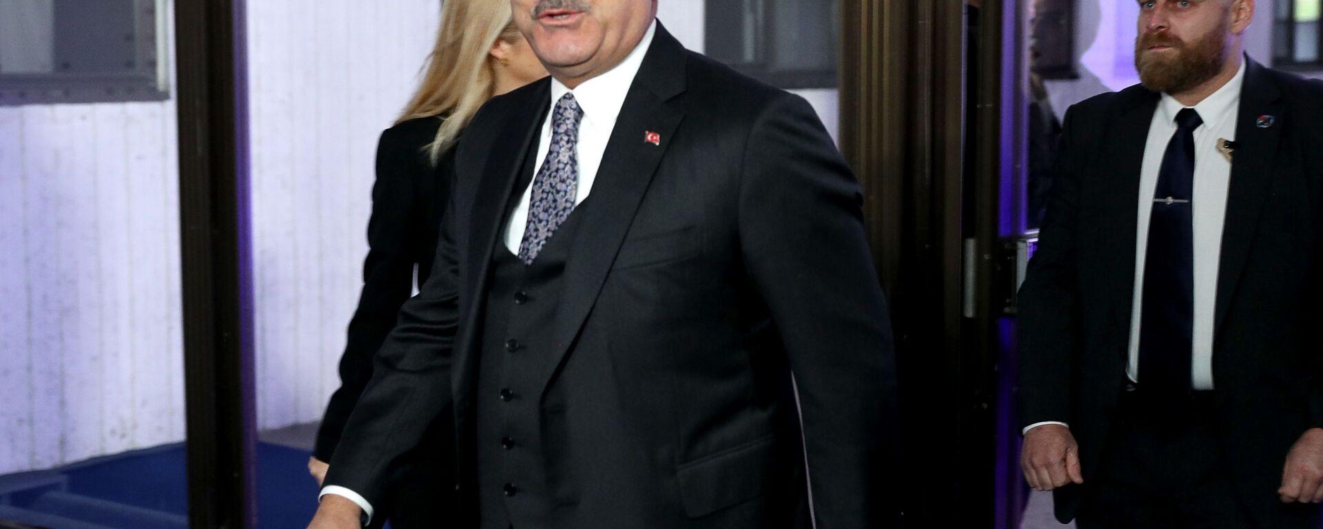 Министр иностранных дел Турции Мевлют Чавушоглу  - Sputnik Армения, 1920, 23.08.2021