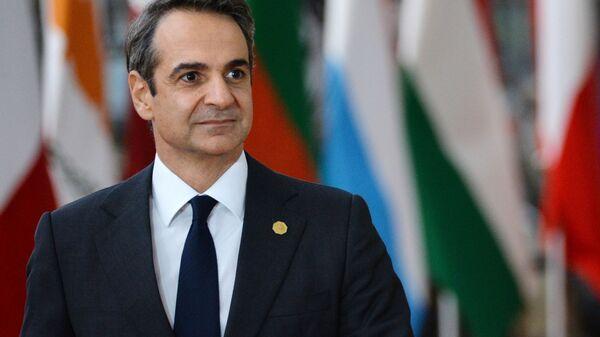 Премьер-министр Греции Кириакос Мицотакис  - Sputnik Армения