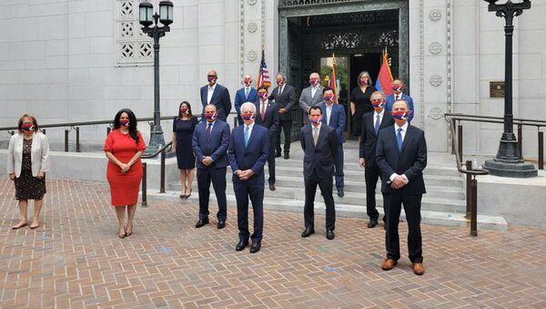 Лос-Анджелес поддерживает Армению и народ Карабаха  - Sputnik Արմենիա