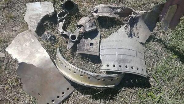 Найденные в Агульском районе республики Дагестан обломки - Sputnik Արմենիա