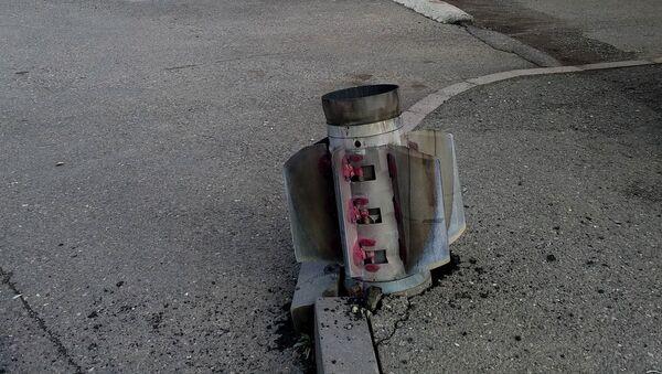 Последствия вражеских обстрелов (8 октября 2020). Степанакерт - Sputnik Արմենիա