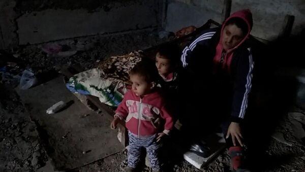 Дети, пострадавшие от авиаударов по собору в Шуши - Sputnik Армения