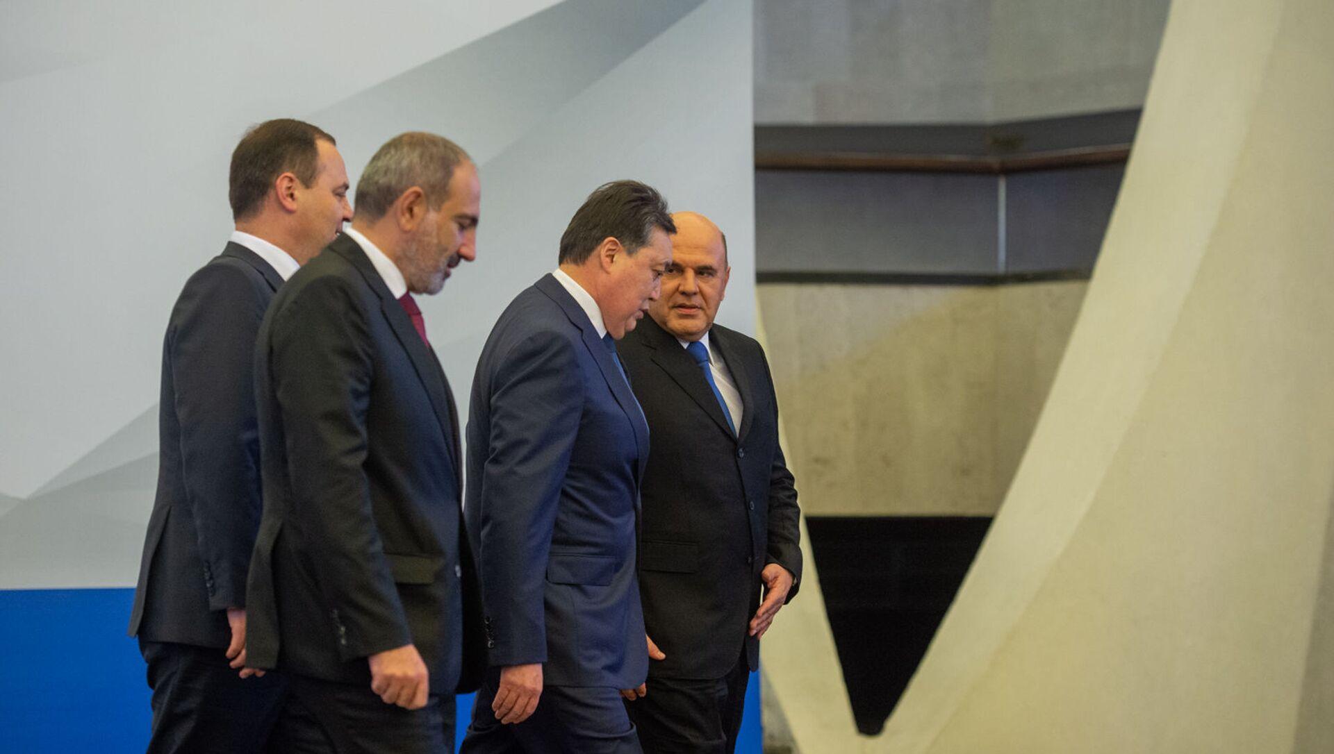 Заседание Межправительственого совета ЕАЭС (9 октября 2020). Еревaн - Sputnik Արմենիա, 1920, 19.02.2021