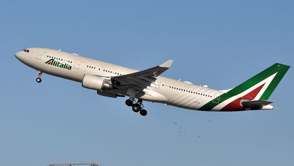 Airbus A330-200 авиакомпании Alitalia - Sputnik Армения