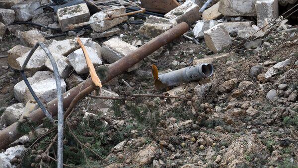 Мартакерт после обстрелов (11 октября 2020). Карабах - Sputnik Արմենիա