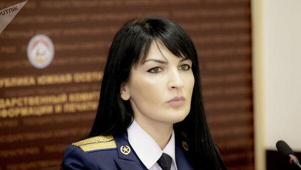 Глава пресс-службы КГБ Южной Осетии Екатерина Бязрова - Sputnik Армения