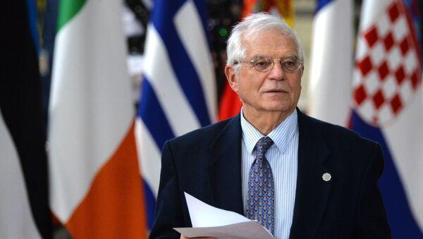 Верховный представитель Евросоюза по иностранным делам и политике безопасности Жозеп Боррель - Sputnik Армения
