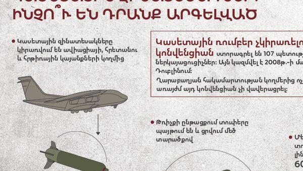 Կասետային զինատեսակներ․ ինչո՞ւ են դրանք արգելված - Sputnik Արմենիա