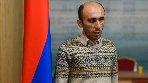 Защитник прав человека Карабаха Артак Бегларян - Sputnik Արմենիա