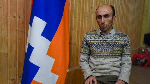 Защитник прав человека Карабаха Артак Бегларян - Sputnik Армения