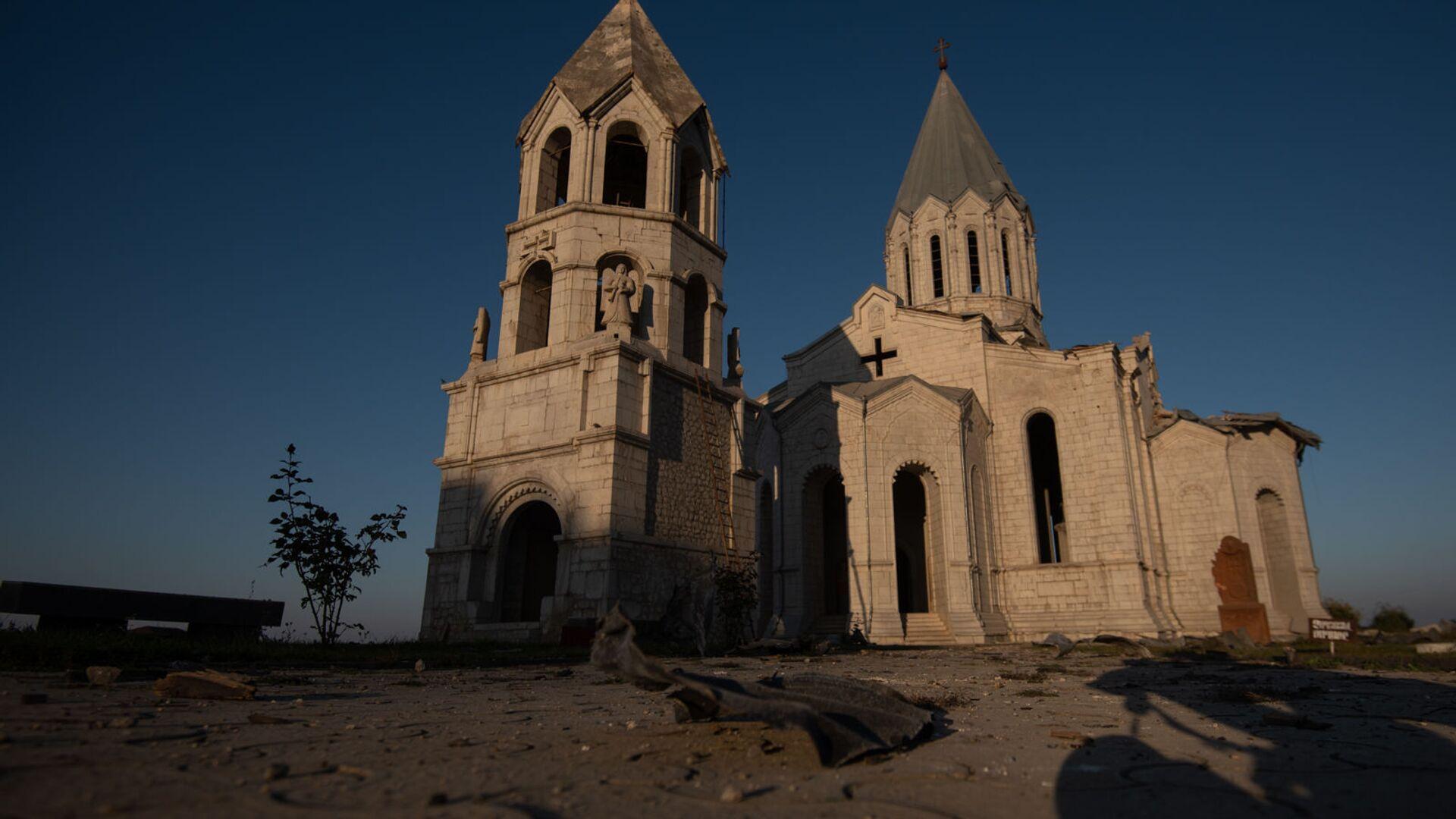 Ղազանչեցոց եկեղեցին Շուշիում - Sputnik Արմենիա, 1920, 26.09.2021