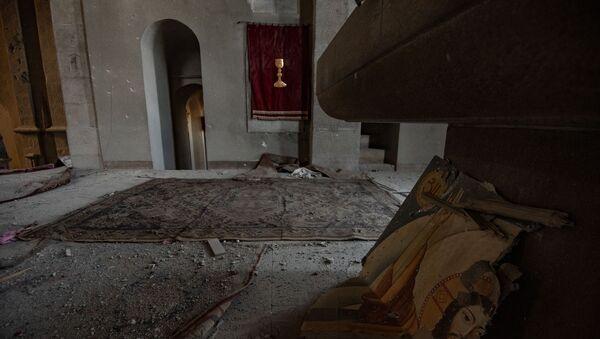 Собор Сурб Аменапркич Казанчецоц (Святого Христа Всеспасителя) в Шуши, Карабах - Sputnik Արմենիա