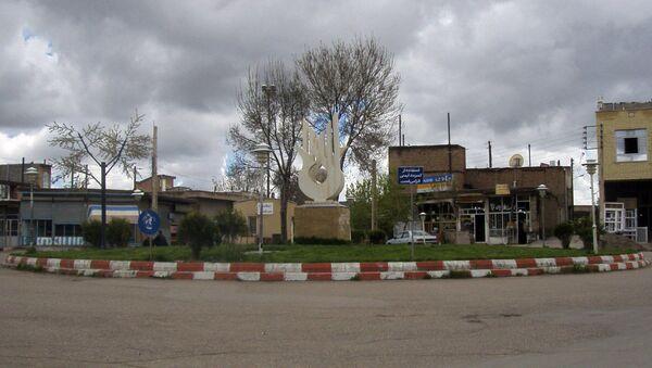 Площадь в городе Эрис, Иран - Sputnik Армения