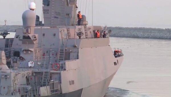 Российские корабли выходят на учения в Каспийское море - Sputnik Արմենիա