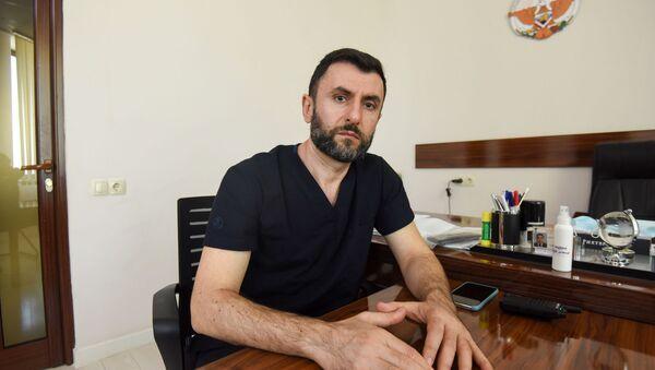 Врач–доброволец из Москвы Шаген Даниелян - Sputnik Արմենիա