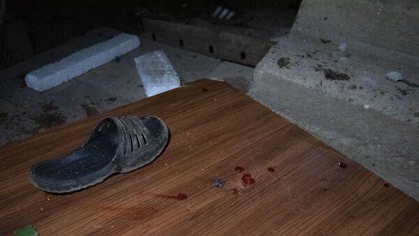 Попавший под обстрел дом в селе Шош (16 октября 2020). Карабах - Sputnik Արմենիա