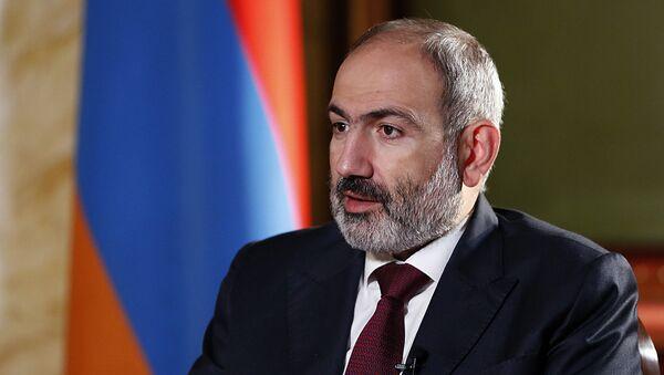 Интервью премьер-министра Никола Пашиняна французской газете Libération (16 октября 2020). Еревaн - Sputnik Армения