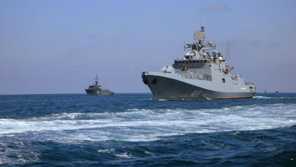 Парад ВМФ в Сирии - Sputnik Армения