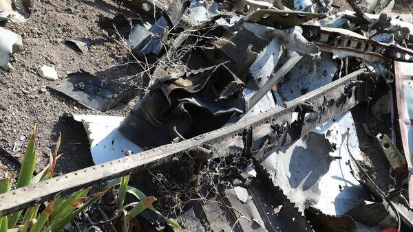 Армия обороны НКР опубликовала очередной сбитый беспилотник азербайджанских ВС - Sputnik Արմենիա