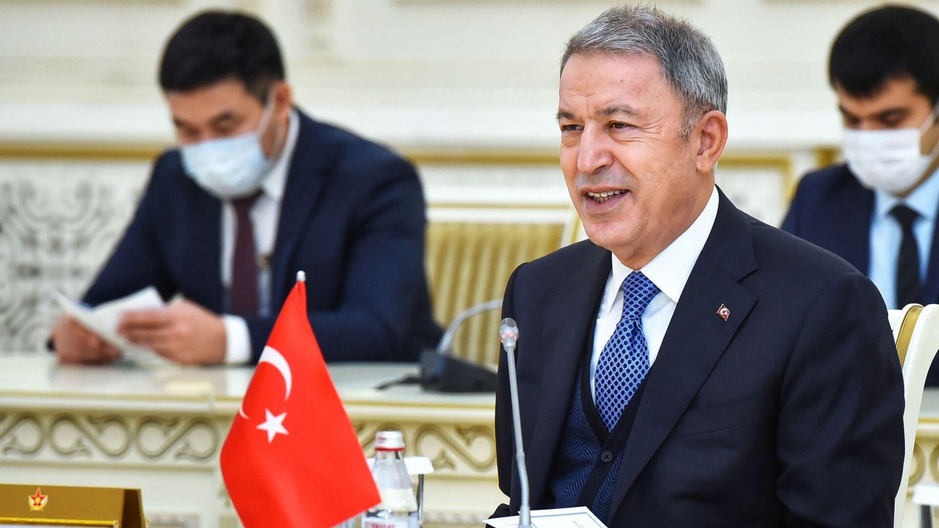 Министр обороны Турции Х. Акар прибыл с визитом в Казахстан - Sputnik Армения, 1920, 14.10.2021