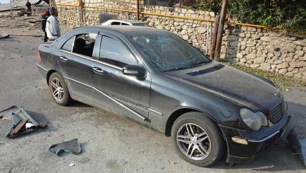Последствия обстрелов Степанакерта (28 октября 2020). Карабах - Sputnik Արմենիա