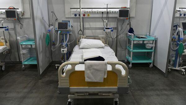 Временный госпиталь для пациентов с COVID-19 - Sputnik Армения