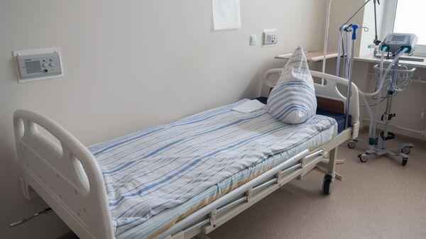 Палата для лечения больных коронавирусом в госпитале для ветеранов войн - Sputnik Армения