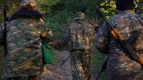 Женщины-добровольцы на войне в Нагорном Карабахе - Sputnik Армения