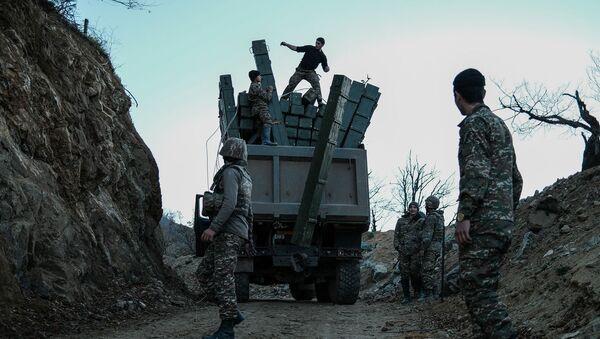 Военнослужащие Армии Обороны Карабаха - Sputnik Армения