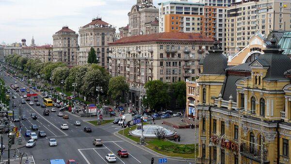 Улица Крещатик в Киеве - Sputnik Արմենիա