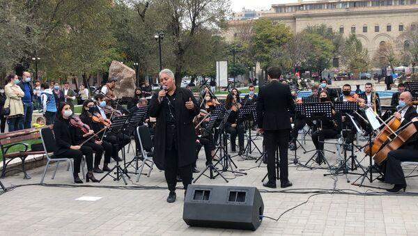 В ходе благотворительных концертов в Ереване собрано свыше 62 тысяч долларов на нужды Карабаха - Sputnik Армения