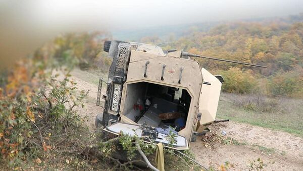 Подбитая военная техника ВС Азербайджана - Sputnik Արմենիա