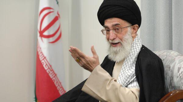 Руководитель Исламской Республики Иран аятолла Сейед Али Хаменеи  - Sputnik Армения