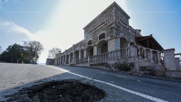 Шуши после бомбежки (4 ноября 2020). Карабах - Sputnik Արմենիա