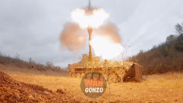 «Гвоздики» Арцаха уничтожают азербайджанских диверсантов - Sputnik Армения