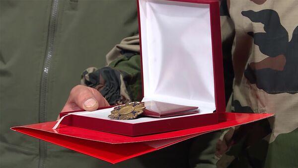 Орден «Боевой крест» I степени Карабаха - Sputnik Армения