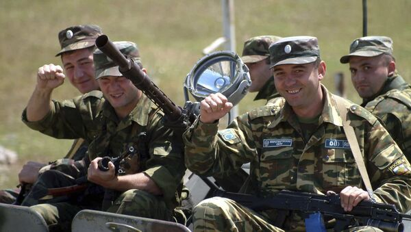Российские миротворцы. Архивное фото - Sputnik Արմենիա