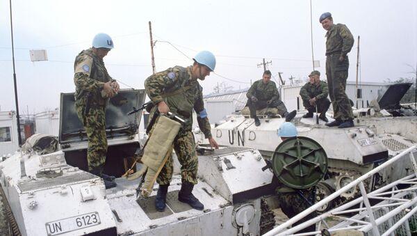 Российский батальон миротворческих сил ООН - Sputnik Армения