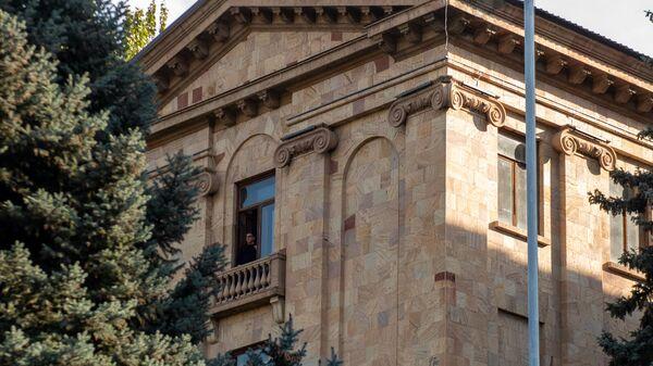 Ситуация у здания Парламента (10 ноября 2020). Еревaн - Sputnik Армения