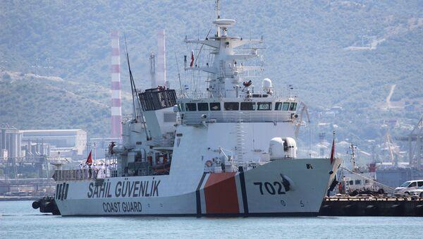 Корабль береговой охраны Турции  - Sputnik Արմենիա